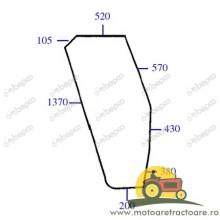 23/4038-4 GEAM USA STANGA FIAT 5124414.
